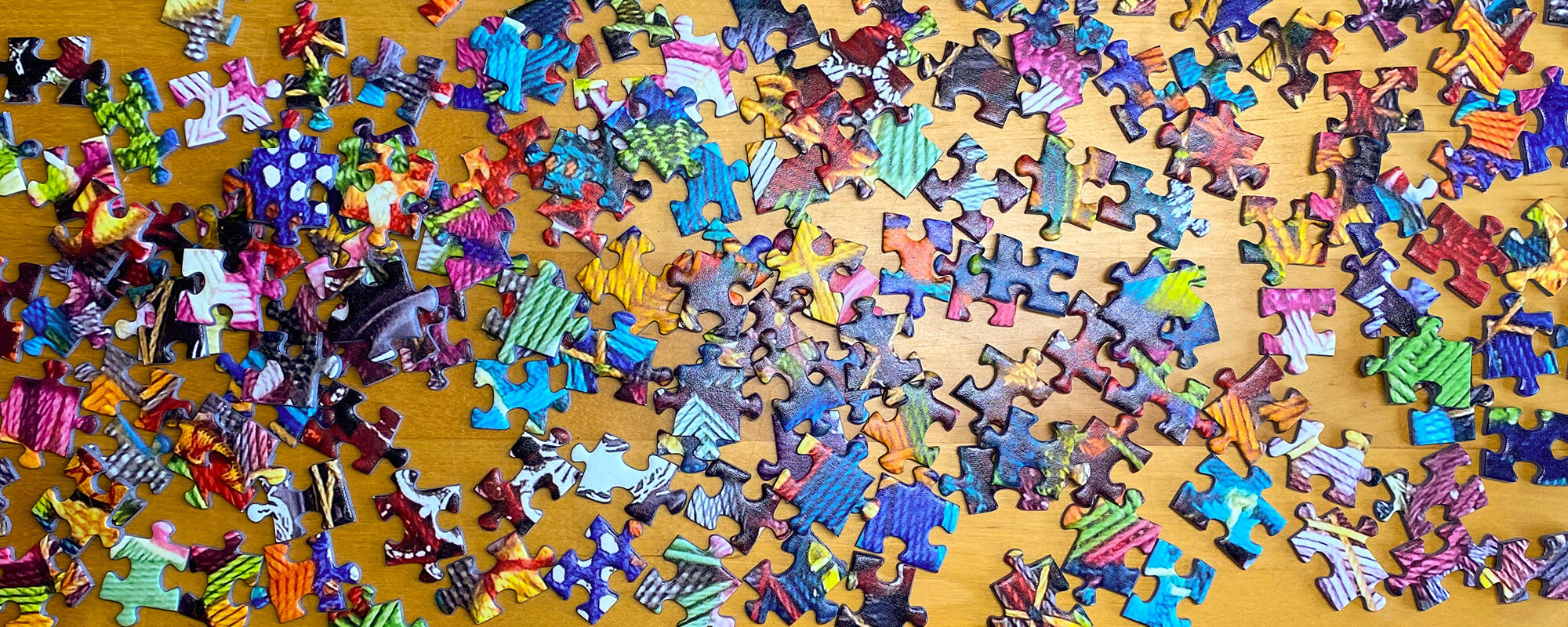 Knopfpuzzle mit 1000 Teilen